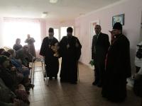 25.01.2015 года Учреждение посетил епископ Никонор Енисейска и Лесосибирска