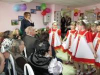 Концер к 70-летию победы вручение юбилецных медалей 22.04.2015 год