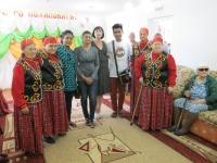 Посещения  иностранной делигации с Индии г.Бангладеш , в рамках Междунородного фестиваля Стран Азиатского Тихооакианского региона_10